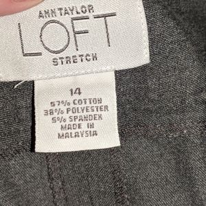 Ann Taylor 14 Stretch pants